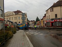 První etapa rekonstrukce Budějovické ulice.