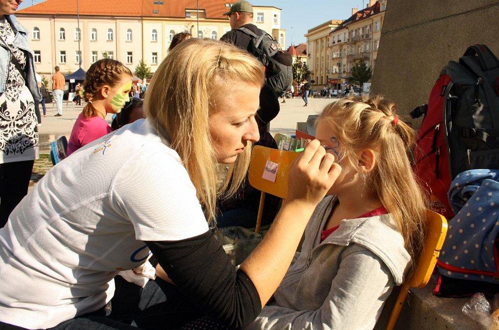 Spoustu zábavy si užily hlavně děti. Čekalo na ně například malování na obličej.