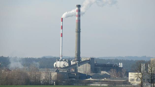 Teplárna Planá už dodává teplo na sídliště Nad Lužnicí.