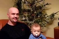 DVAKRÁT. Syn Igora Slobody, nyní osmiměsíční Štěpán, bude slavit dvoje Vánoce. Při českých dostane dárky a při ukrajinských zažije setkání širokého příbuzenstva a zajímavé starobylé zvyky.