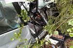 K vážné dopravní nehodě vyjížděli ve čtvrtek ráno hasiči k Plané nad Lužnicí.