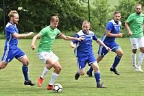 V minulém divizním utkání prohrál Spartak na hřišti favorizované Čížové těsně 1:2.