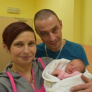Sofie Novotná z Čenkova. Přišla na svět jako první dítě rodičů Lenky a Michala 2. ledna v 11.10 hodin. Po  narození vážila 2900 gramů a měřila 47 cm.