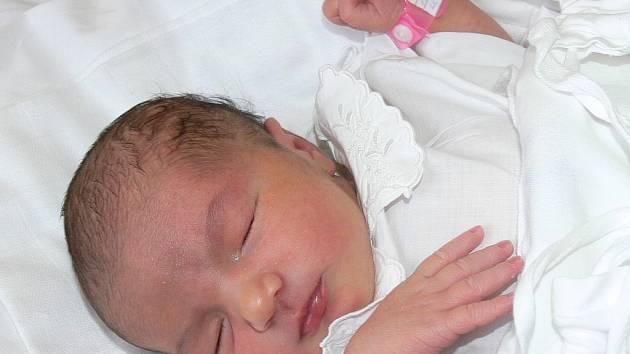 Linda Lešková, 13. 10. 2007 ve 12.39 hodin, 3 060 g, 48 cm, Sezimovo Ústí I