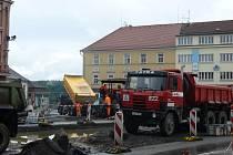 Rekonstruované Křižíkovo náměstí