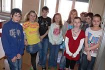S dětmi ze Základní školy v Mladé Vožici jsme si tentokrát povídali o svátku zamilovaných.
