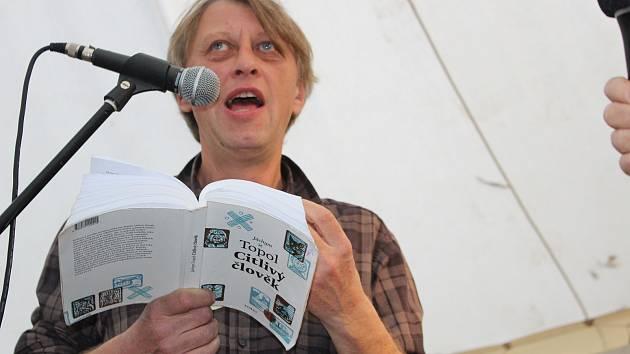 Hostem Tabooku byl i spisovatel Jáchym Topol.