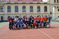 Do Tábora v rámci výměnného pobytu zavítali studenti hned z několika zemí. Návštěva byla věnována především fotbalu.