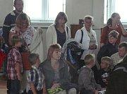 První školní den v Mladé Vožici.