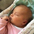 Ella Janovská ze Zhoře u Tábora. Na svět přišla 10. května ve 12.31 hodin. Vážila 3300 gramů, měřila 48 cm a už má čtyřletou sestřičku Aničku.