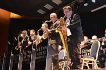 Táborský koncert Glenn Miller Orchestra.
