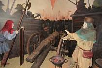 Stálá expozice Husité na Staré radnici v Táboře.