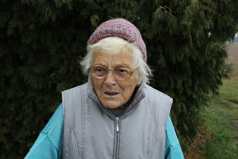 Marie Salabová z Hlavňova.
