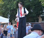 Festival Komedianti v ulicích baví obyvatele i návštěvníky Tábora.