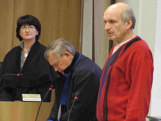 František Lalák u soudu.