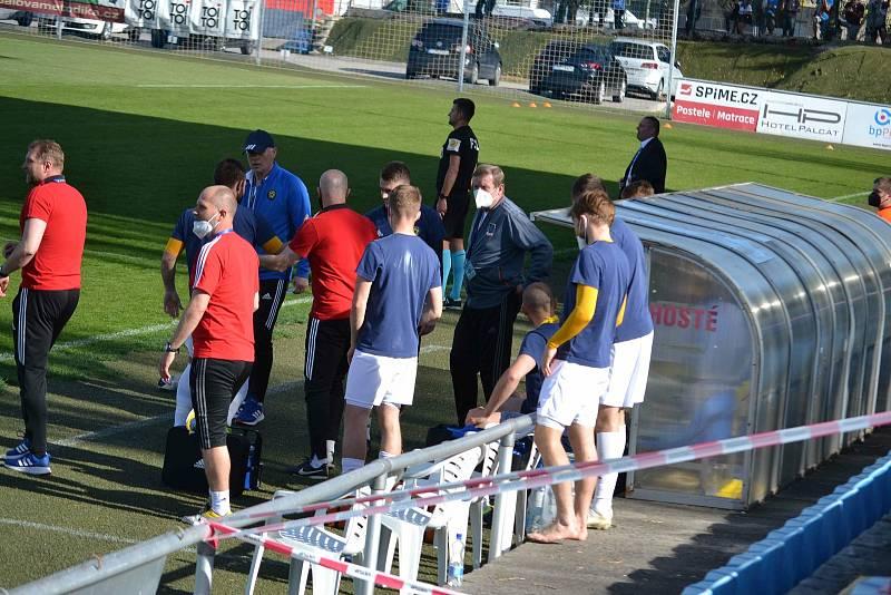 FC MAS Táborsko - FC Vysočina Jihlava 2:2.