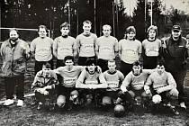 Z historie fotbalu v Mladé Vožici.