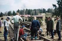 Nejkratší mezinárodní koleje vedou  z Nového Údolí na Prachaticku do německého Haidmühle.