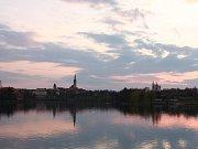 Léto na Sokolské plovárně.