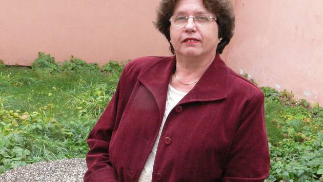 Farářka Eva Červená.