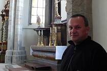 Premonstrátský kněží František Vehovský působí na jihu Čech už od roku 1999.