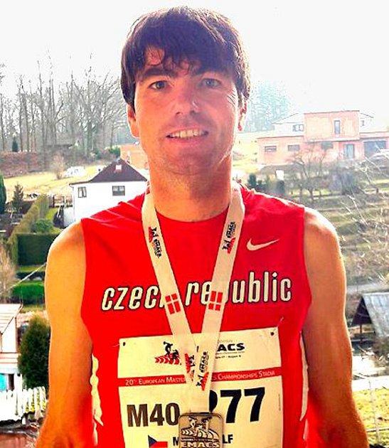 Marek Volf, atletika.