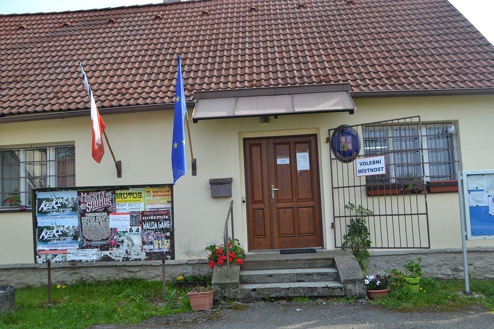 Dolní Hrachovice - volby do Evropského parlamentu.