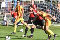 Z utkání Junior Strakonice - Sokol Sezimovo Ústí 0:2.