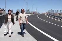 Most spojující Tábor a Blanické předměstí je od 3. června otevřen.