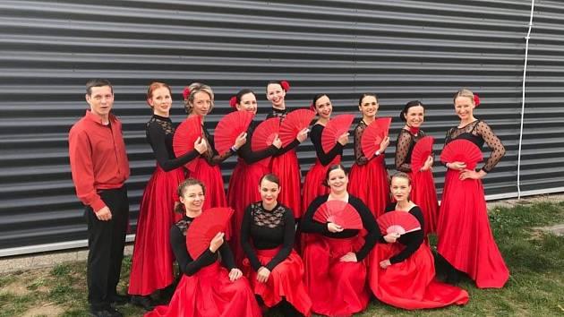 Taneční klub z Tábora si ze sobotní soutěže odvezl zlatou i stříbrnou medaili.