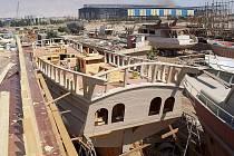 Řidič z Táborska stavěl pirátskou loď v Egyptě