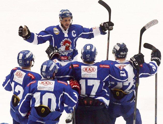 Táborští hokejisté.