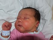 Nela Andrášová ze Stádlce. Na svět přišla  10. září ve 2.04 hodin jako první dítě rodičů Jany a Michala.  Po narození vážila 4030 gramů a měřila 51 cm.