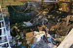 Úklid Vildova mlýna.