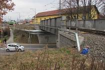 Na tomto mostě přibude lávka pro pěší.