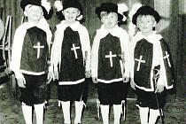 Z historie mateřské školy v Borkovicích.