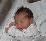 Daniel Bartoš z Tábora. Přišel na svět jako druhý syn v rodině 10. dubna v 7.49 hodin. Vážil 2950 gramů, měřil 49 cm a bráškovi Davídkovi je rok a sedm měsíců.