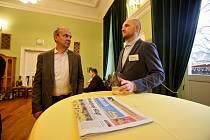 Konference podnikání ve stínu historických dominant Tábora ve spolkovém domě Střelnice, kterou pořádá Raiffeisenbank a partnerem akce je Deník.