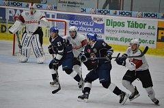Z minulého domácího utkání HC Tábor proti Klatovům.