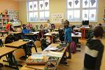 Školáci prvních a druhých tříd jsou zpět, dočkala se jich i ZŠ Mladá Vožice.
