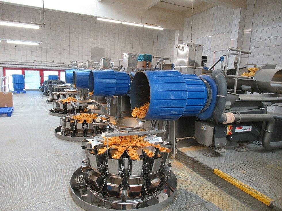 Výrobce českých chipsů již třetím rokem chystá projekt na výstavbu potrubí. Na brambůrky jsou třeba brambory, koření, olej a sůl, ale v procesu důležitou roli hraje právě i voda.