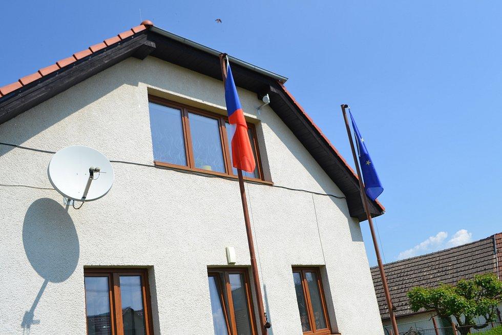 Běleč - volby do Evropského parlamentu.