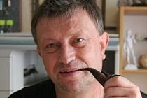 Karel Drbal, šéf jeskyně