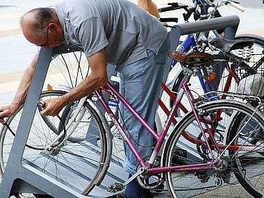 Ilustrační. Zloději kradou kola po celý rok