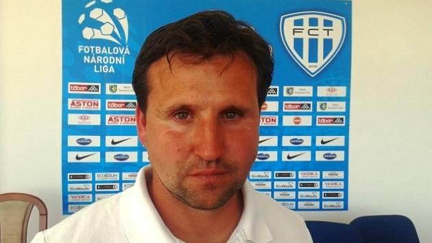 Trenér FC MAS Táborsko Petr Frňka: V utkání jsme se ocitli na černé sjezdovce