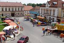 Malé náměstí v Jistebnici, které každoročně hostí pouť, v sobotu ožije. Po dlouhé historii se tady uskuteční oslava 750 let od založení města.