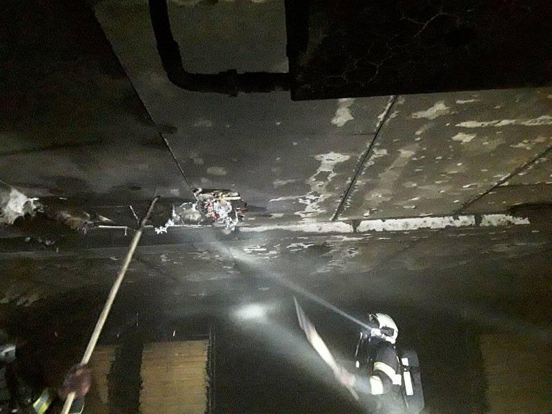 V sobotu 7. listopadu vyjížděli profesionální hasiči do osady Nedvědice u Soběslavi k požáru v podniku České houby.