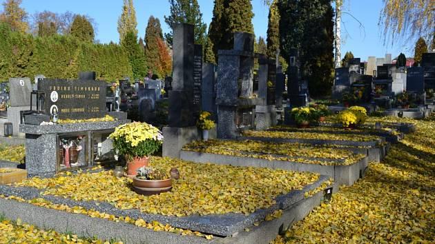 Nový hřbitov v Táboře