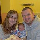 Filip Vavera ze Zvěrotic. Prvorozený syn rodičů Adriany a Lukáše přišel na svět 31.ledna dvě minuty po třinácté hodině. Po narození vážil 4080 gramů a měřil 53 cm.