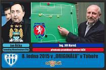 Pozvánka: Jan Říčka a Jiří Kureš v Táboře
